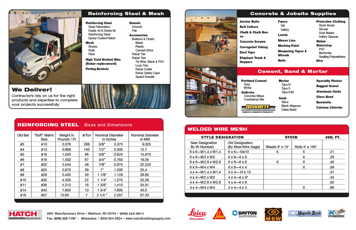 Hatch Product Line Guide and Sell Sheet